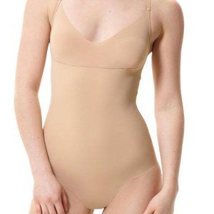 Commando Classic Control Bodysuit Thong in Nude